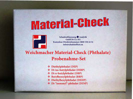 Weichmacher Material-Check (Phthalate)