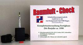 Raumluft-Check Fertighaus (bis ca. 1990)