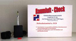 Raumluft-Check Holzschutzmittel & PCB