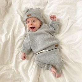Waffelsweater grey