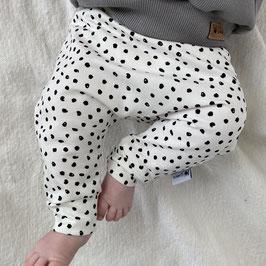 basic pants small dots