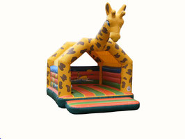 "Jumping Castle ""Giraffe"""