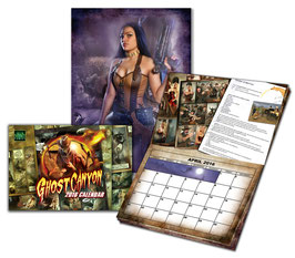 Ghost Canyon 2016 Calendar