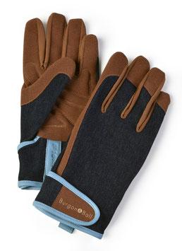 "Burgon & Ball - ""Dig the Glove"" Denim blue"