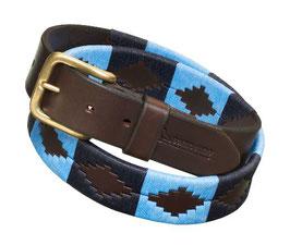 Pampeano Polo Gürtel - Azules