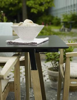 Skagerak - Tisch Way Outdoor schwarz