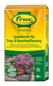 Frux Spezialerde für Trog- & Dauerbepflanzung