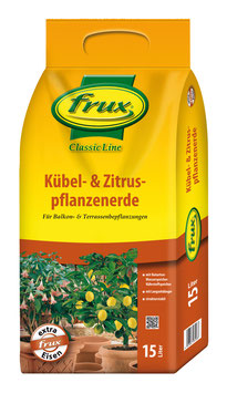 Frux Kübel- & Zitruspflanzerde