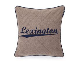 Lexington  Sham beige navy