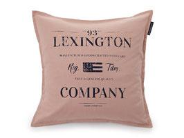 Lexington Kissenhülle Classic Graphic rosa