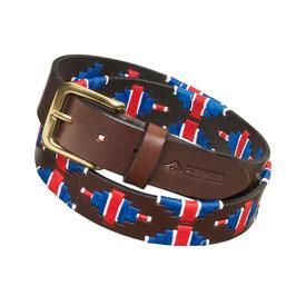 Pampeano Polo Gürtel - Britische Flagge