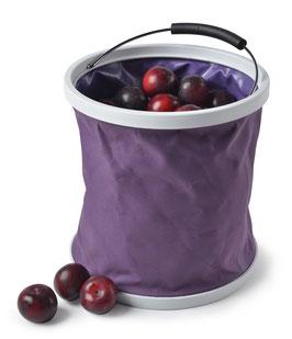 Burgon & Ball Falteimer lila