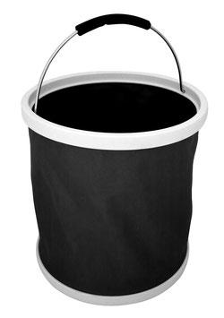 Burgon & Ball Falteimer schwarz
