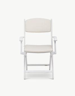 Skagerak - Auflage Stuhl Selandia mit Armlehnen