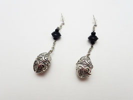 GT-290 / TINSHA PIERCED(EARRINGS)