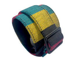 GT-177 / INDIA STRIPE WRISTBAND