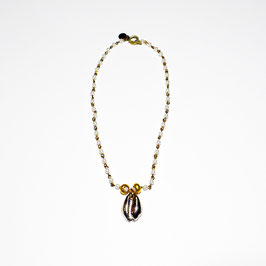 GM-329 / SHELL PEARL NECKLACE