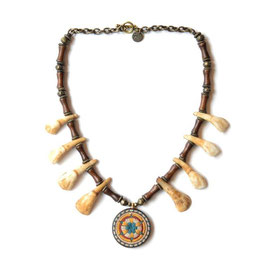 GARAxblackmeans / FARMING TRIBE NECKLACE