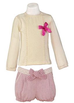 Miranda リボンシャツとリボンショーツ/Shirt and Shorts combination