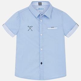 ボーイズシャツ ブルー/Boys Shirt Blue