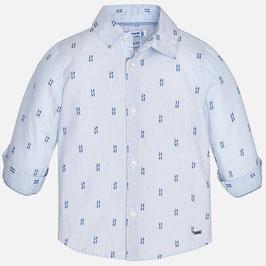 魚のボーイズシャツ/Fish printed Shirts