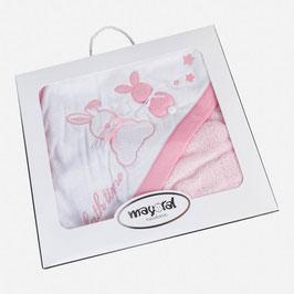 フード付きバスタオル Hooded baby bath towel