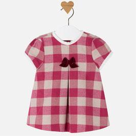 Mayoral ベビー女の子用チェックドレス/Baby girl short sleeve guingham dress