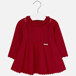 Mayoral ベビー女の子用ニットドレス/Baby girl knit long sleeve dress