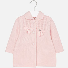 Mayoral 女の子用ニットコートピンク /Girl knit coat Pink