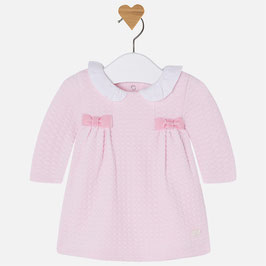 Mayoral 女の子用ジャージードレス/Baby girl structured knit dress