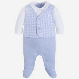 Mayoral ベビー男の子用カバーオール/Baby boy onesie with vest and trousers