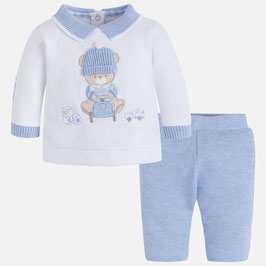 Mayoral ベビー男の子用上下セット/Baby boy set with long trousers