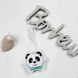 Hochet à accrocher motif panda