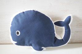 Coussin en forme de Baleine chambre bébé - Réservé Eliott