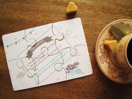 Puzzle annonce Papy en carton épais