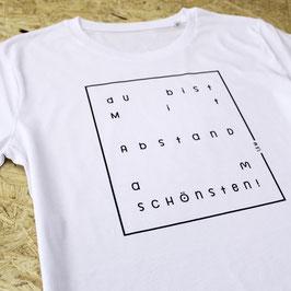 T-Shirt 'Mit Abstand'