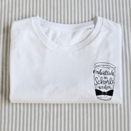 T-Shirt 'Ordentlich in Schorle werfen'