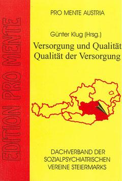 Versorgung und Qualität - Qualität der Versorgung