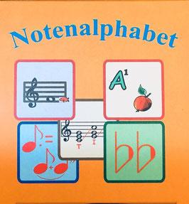 Notenalphabet - Kartenspiel zum Notenlernen