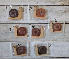 Les escargots assis