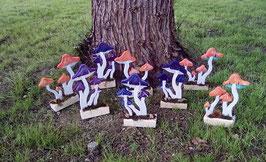 Les champignons : décoration à poser