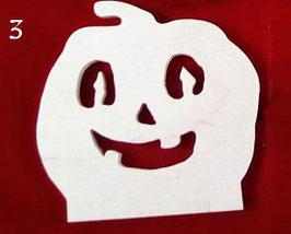 Sujets en bois pour décoration en kit: Halloween