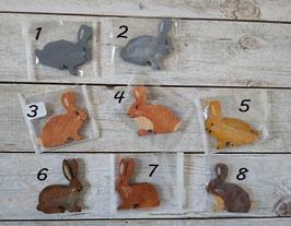 Les lapins couchés