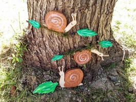 Les escargots espiègles