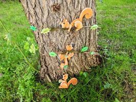 Les écureuils espiègles