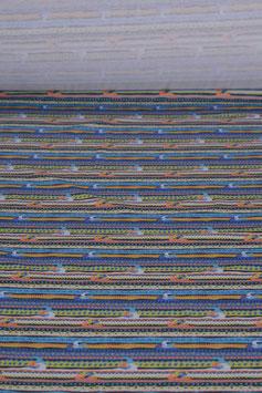 0,5 m - Baumwolljersey - Maritimes Muster