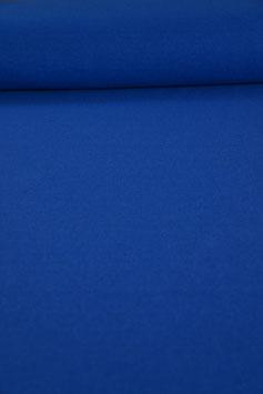 Traumhafter Walkloden royalblau, reine Wolle - Made in Austria