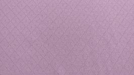Baumwolljersey Rosa mit Strickmuster | BWJ 0033