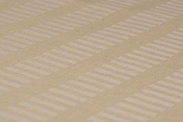 0,5 m - Bio-Baumwolle, Rechteck-Muster, Beige-hell Oliv