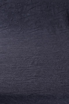 0,5 m - Noble designer wool jersey in wave look - anthracite